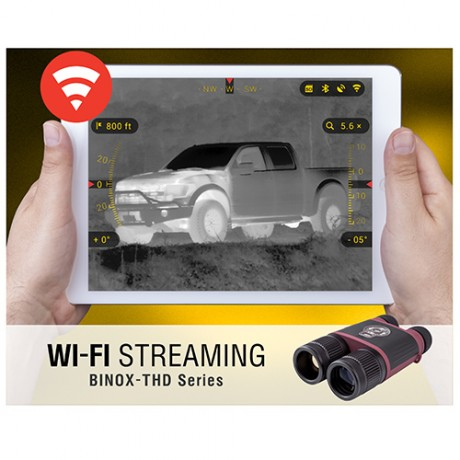 ATN BinoX THD 4.5-18x50mm 384x288 with HD Video Recording, Wi-Fi, GPS, Smooth Zoom Thermal Binoculars