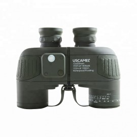 USCamel 10x50mm Army Compass with Rangefinder Military Binocular