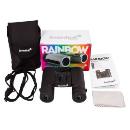 Levenhuk Rainbow 8x25mm Black Tie Waterproof/Fogproof Binocular
