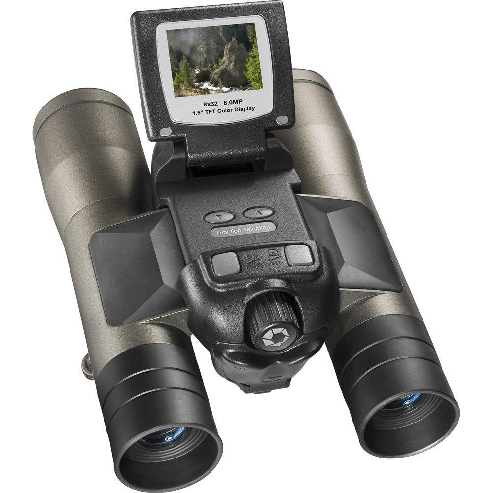 Barska 8x32 Point and View 8MP Camera Bird Watching Binoculars