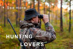Hunting lovers